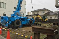 新社屋建設の様子の写真